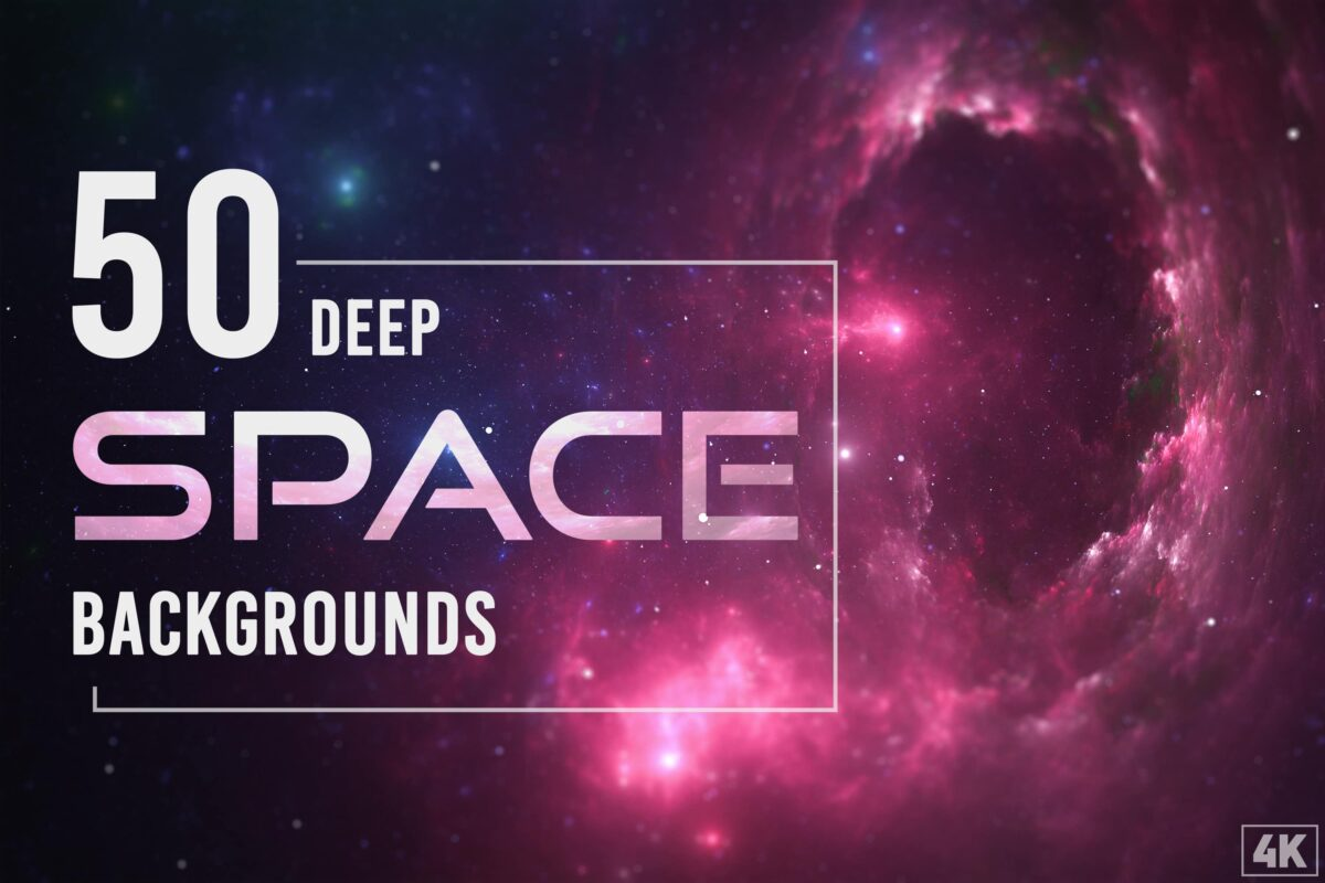 50 Deep Space Backgrounds