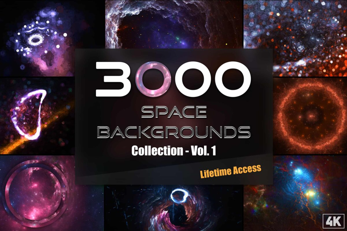 3000+ Space Backgrounds and Textures Collection